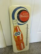 Vintage Advertising Birley's Soda Fountain 26 X 10 Thermometer Store  A-390