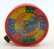 Vintage Japanese Motorcycle Race Hand Held Roulette Game