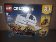 Lego Creator 31109 Pirate Ship 3-in-1 Authentic Factory New/ Factory Sealed