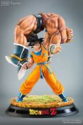 Tsume Art Very High Quality Statue Goku And Nappa Redemption Dragon Ball Z