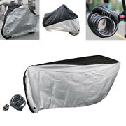 Bike Cover Bicycle Scooter Waterproof Uv Protect Shield Coat 5-digit Cable Lock