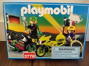 Playmobil 3779 Victory Motorcycle Racing Set New Sealed