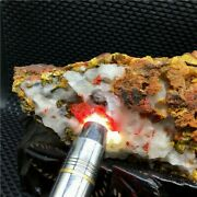 6.5lb Red Realgar With Yellow Orpiment Crystal Mineral Specimen+stand U387