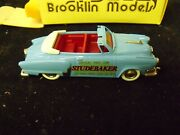 Studebaker 1952 Commander Convertible Indy Pace Car Brooklin 1/43 Scale 17x