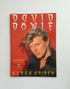 David Bowie Glass Spider Promo Poster Mint Large 12 X 17 Mpi Video 1988 Rare
