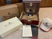Cuervo Y Sobrinos Prominente A1011/2 Automatic Menand039s Watch Euc Complete Set