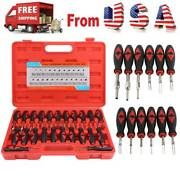 23pcs Car Terminal Removal Tool Kit Wire Connector Pin Release Extractor Puller