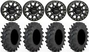 System 3 Sb-3 Black 14 Wheels 30 Outback Max Tires Yamaha Grizzly Rhino