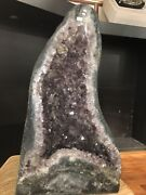 """214 Lbs Brazilian Amethyst Cathedral Geode 17x29.5x14"""" D 38"""