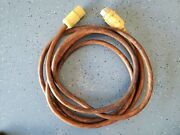 Marinco 25and039 Foot 50a Amp 125/250v Volt Cordset Boat Power Cord