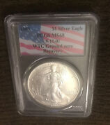 Very Rare 1993 Silver Eagle Wtc Towers Ground Zero Recovery 9/11/2001 Pcgs Ms69