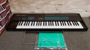 Yamaha Dx7 Synthesizer Keyboard Music Stand Vintage Energized Confirmed Junk