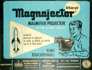 Vintage Magnajector Projector Toy In Orig Box