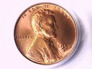 1950 S Lincoln Wheat Cent Penny Pcgs Ms 66 Rd 15836661