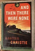 And Then There Were None By Agatha Christie. Pocket Book, 1944