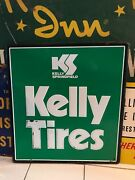 Original Advertsing Car Auto Truck Sign Kelly Springfield Tires Nos New Old Stoc