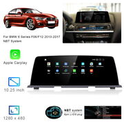 8-core Android 10.0 Car Gps Navigation Player Video Carplay For Bmw 6 Series F06