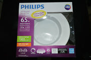2 Pack Philips Led Recessed Retrofit Trim 5 Or 6 Downlight 65w Soft White