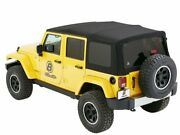 Soft Top For 2007-2018 Jeep Wrangler 2008 2009 2010 2011 2012 2013 2014 T938sd