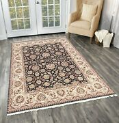 8x10 Indian Handmade Living Room Area Rugs Traditional Wool Hand Knotted Carpet