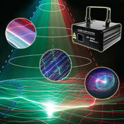 1w 5 In 1 Scan Animation Rgb Laser Light Stage Lighting Project Dmx Party Lamp