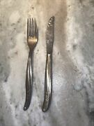 Twa - First Class - Knife And Fork- International Silver Vintage Set