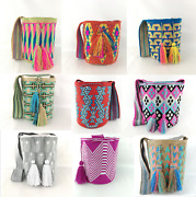 Authentic Handmade Bags Mochilas Wayuu From Colombia