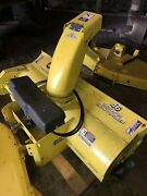 John Deere Lawn Mower Tractor 46andrdquo Single Stage Quick Hitch Snowthrower Only