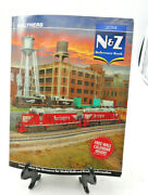 Walthers N, And Z Scale Train Reference Book Catalog 2014 Free Wall Calendar