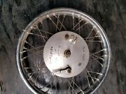 Ajs/matchless Front Wheel Hub Brakes 19 Wheels -late Model