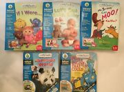 Leap Frog Little Touch Library Interactive Book And Cartridge Bundle Set Of 5
