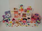 Littlest Pet Shop Lot Rescue Tail Center Playset With Pets And Accessories Lps