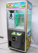Toy Party 31 Skill Crane Claw Machine With Led's / Validator And Coin Slot
