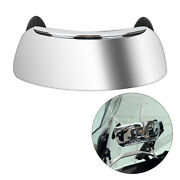 Motorcycle Wide Angle Rear View Mirrors Holographic Safety 180° Blind Spot