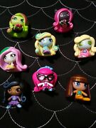 Monster High Minis Doll Figure Lot Of 8 Used