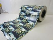 Retro Jewelry Store Commercial Roll Of Christmas Gift Wrap- Dickens Type Scene