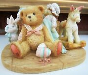 Cherished Teddies Christopher Old Friends Are The Best Friends Large Figurine