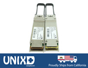 Pair Avago Brocade 40gbe 40gbase-sr4 Qsfp+ Mpo Optic Ethernet Infiniband