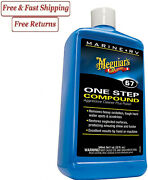 Meguiarand039s M67 One Step Compound High Gloss Polish Oxidation Cleaner Boat And Rv
