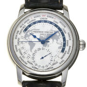 Free Shipping Pre-owned Frederique Constant Manufacture Limited 1888 Fc-718wm4h6