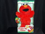 1995 Original Tickle Me Elmo Vintage Plush Doll Tyco New In Box From Japan Rare