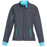 Athleta Xxs Dipsea Jacket Xxs Asphalt Water-resistant Workout