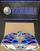Yamaha Yfz450 Stickers Decals Graphic Kit Nos Blue Yfz 450 450r Oem A5