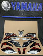 Yamaha Yfz450 Stickers Decals Graphic Kit Nos Red Black Yfz 450 450r Oem A6