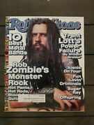 1999 February 4 Rolling Stone Magazine Rob Zombie's Monster Rock D79