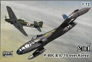 Sword P-80c Shooting Star Il-10 Over Korea Markings In 1/72 72 128 St