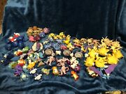 1999 First Movie And Pokémon 2000. Huge Lot Of Balls And Toys From Burger King