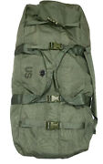 Genuine Us Military Zippered Army/navy Improved Duffel Bag 8465-01-604-6541/vgc