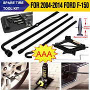 2 Ton Scissor Jack Lug Wrench Extension Spare Tire Tool Fits 2004-2014 Ford F150
