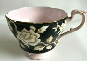 Vtg Paragon Fine Bone China Tea Cup England H.m. The Queen And H.m. Queen Mary Euc